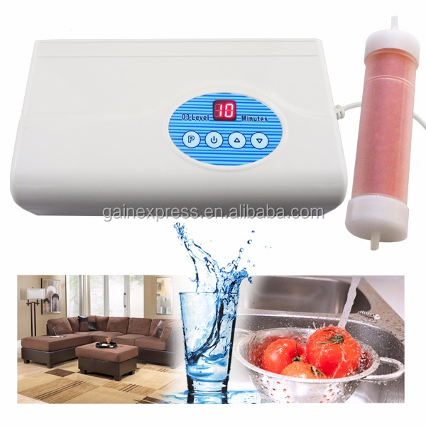 Digital Ozone Generator Air Quality Purifier O3 Clean Sterilization Air Dryer 200mG/H Food Preparation Water Purification