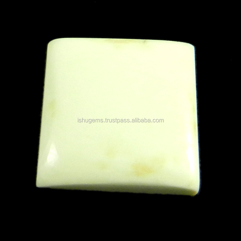 Best Quality ! 2.01 gms lemon chrysoprase 15mm Square Cab, gemstone for jewellery IG2092