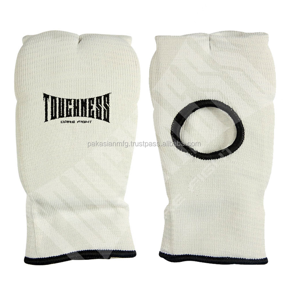 Elastic Foam Padded Cotton Hand Gloves - Boxing Inner Gloves - Customized