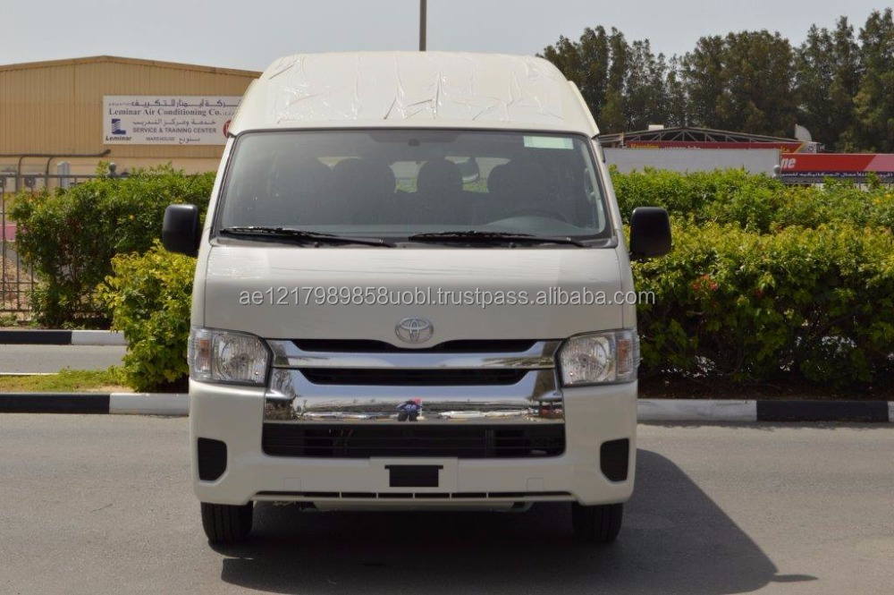 2016 MODEL BRAND NEW LHD- TOYOTA HIACE HIGHROOF DLX 2.5L DIESEL 15 SEAT BUS MANUAL TRANSMISSION