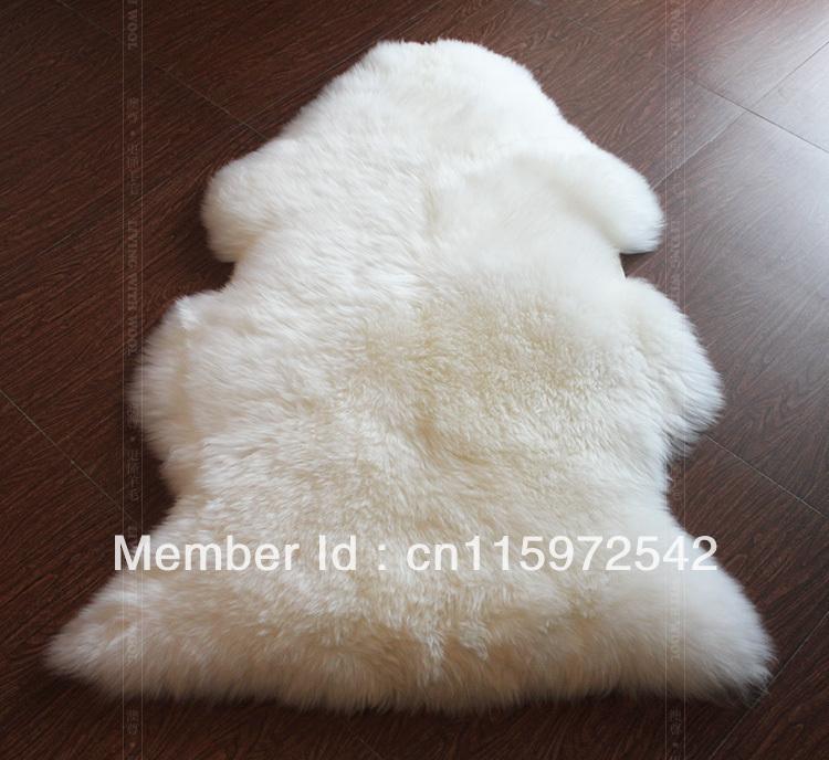 Genuine Sheepskin Rug Single Pelt Fur