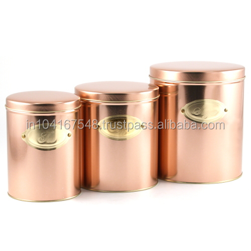 kitche canistersrose gold color copper canisterselegant With kitchen colors with white cabinets with canning jar candle holders