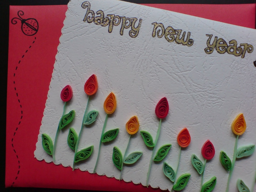 3d new year greeting card printing made in india