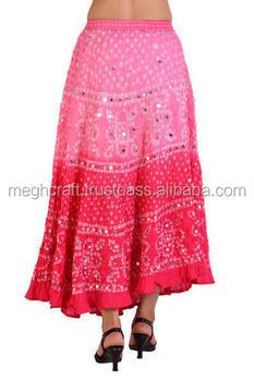 86f62b216 Ladies cotton printed long skirts - Cotton wrap around skirts - Beach wear  women short mini