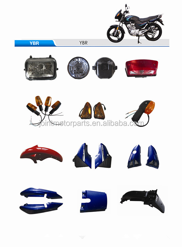 For yamaha ybr 125 motorcycle body plastic cover parts for Buy yamaha motorcycle parts