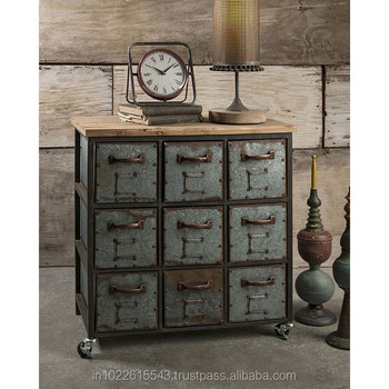 indian hub chest tall buy of industrial drawer drawers cosmo