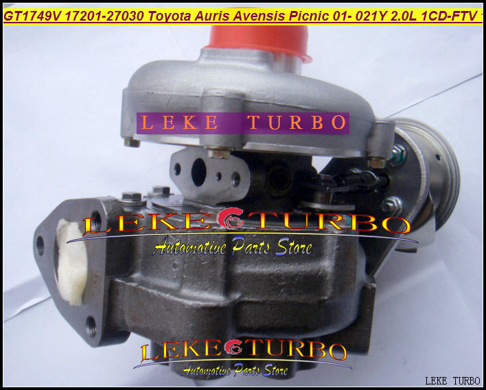 gt1749v 17201 27030 721164 0003 721164 turbo turbocharger toyota auris avensis picnic previa. Black Bedroom Furniture Sets. Home Design Ideas