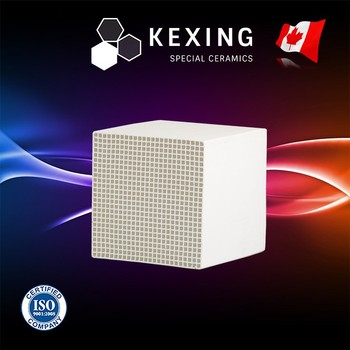 Loose Mullite Monolith Honeycomb ceramic substrate