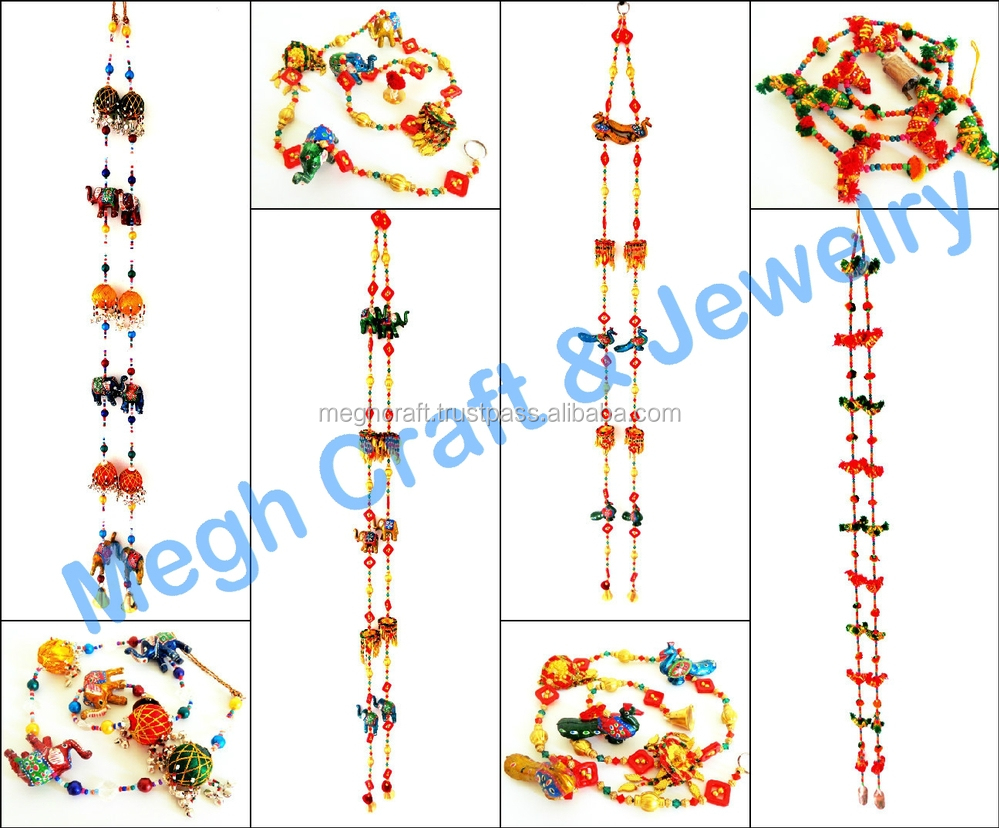 Wholesale Home Decor Items New Year Home Decor Wall Hanging Rajasthani  Traditional Animal Strings