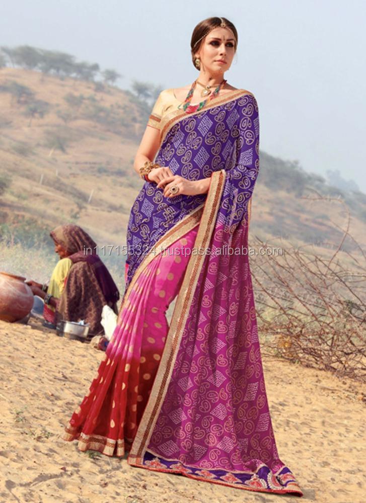 e12d318e49 Bandhani saree wholesalers surat - Saree wholesaler - Indian saree skirts  women - Saree blouse designs 2phuti
