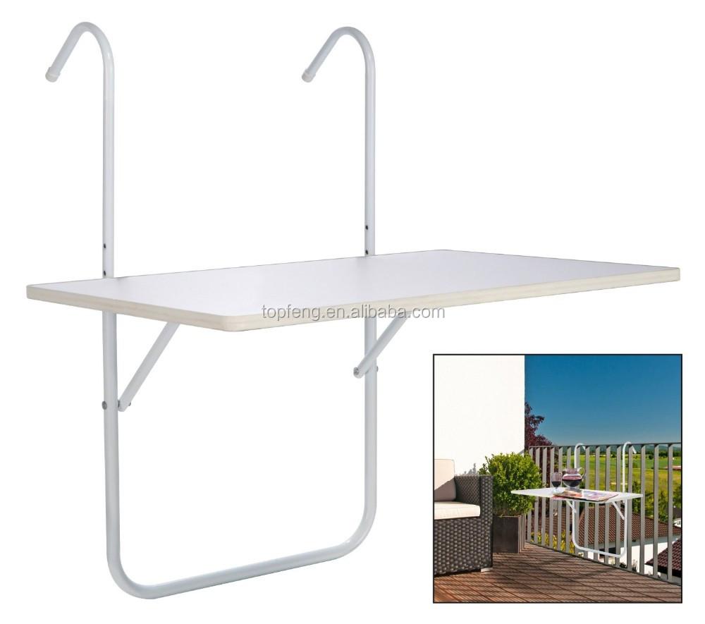 Balcony Railing table folding balcony table balcony hanging table