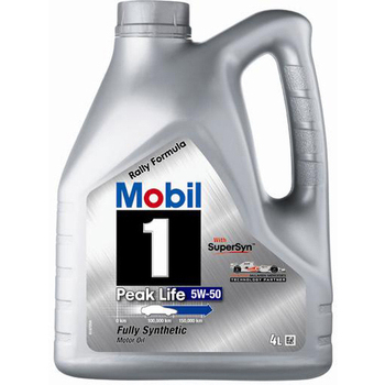 mobil 1 peak life 5w 50 rally formula buy engine oil. Black Bedroom Furniture Sets. Home Design Ideas