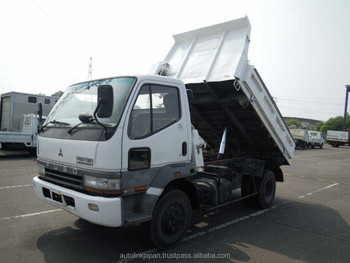 1998 Used Mitsubishi Fuso Fighter Truck | 4 Ton Dump | 6d16 Engine ...