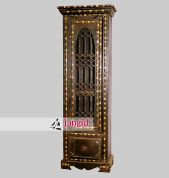 Antique Wooden Indian Bedroom Almirah - Buy Bedroom ...