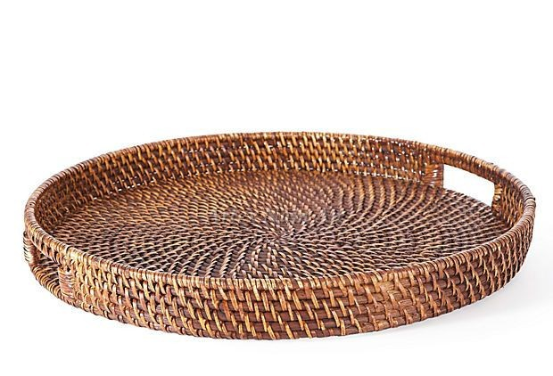 Round Rattan Serving Tray Wholesale Rattan Tray Buy