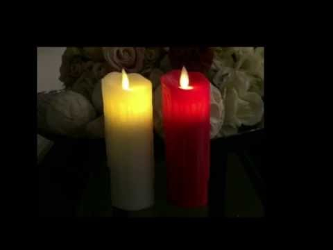 Flameless Flickering LED Candle