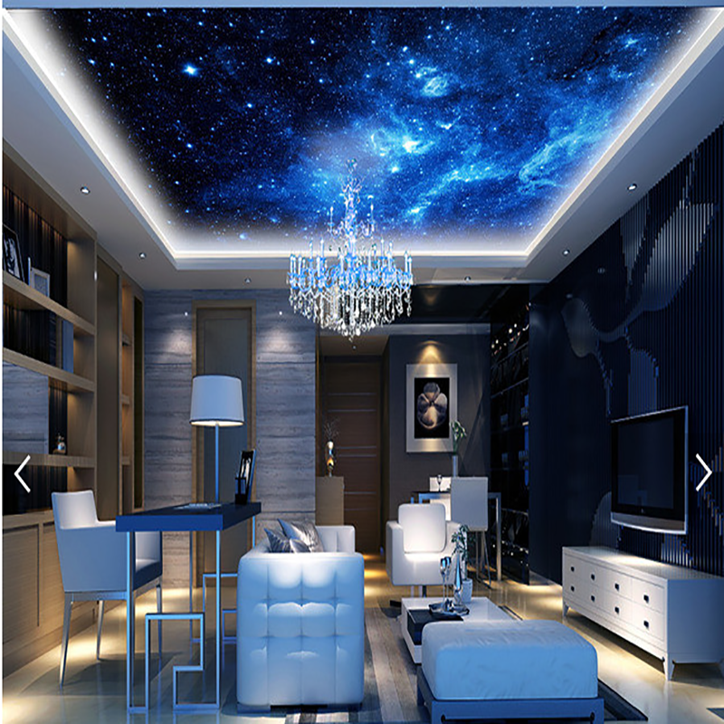 3d High Definition Cheap Ceiling Murals Wallpapers Picture