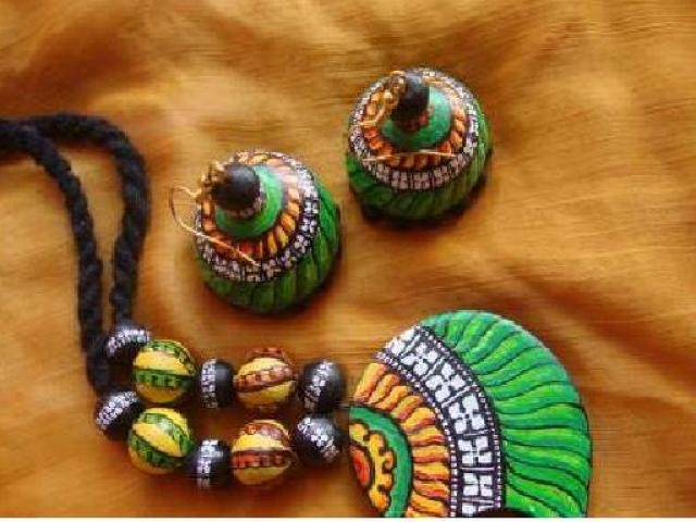 Terracotta jewellery supplier from india buy terracotta for Mural jewellery