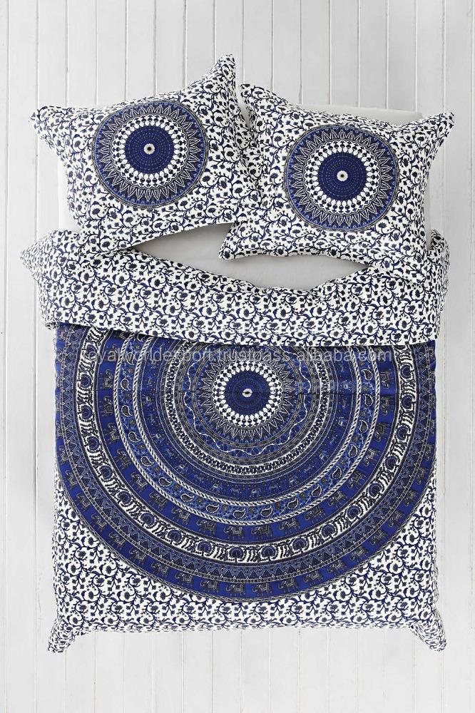 Gro handel tagesdecken mandalas stoff handgemachte for Tagesdecke paisley