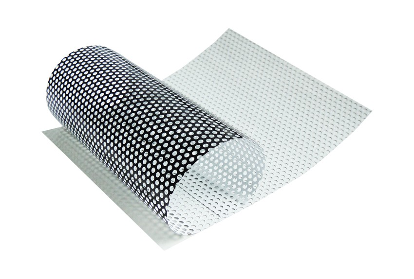 Glossy Surface Micro Perforated Vinyl Window Film Covering