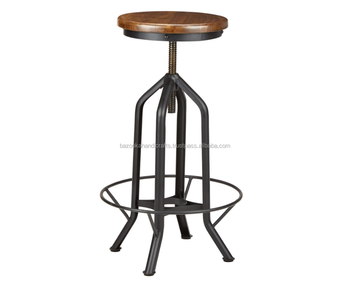 Marvelous Mango Wood Adjustable Counter Stool With Foot Rest Buy Wood Folding Stool Decorative Stool Cheap Wood Stools Product On Alibaba Com Pdpeps Interior Chair Design Pdpepsorg