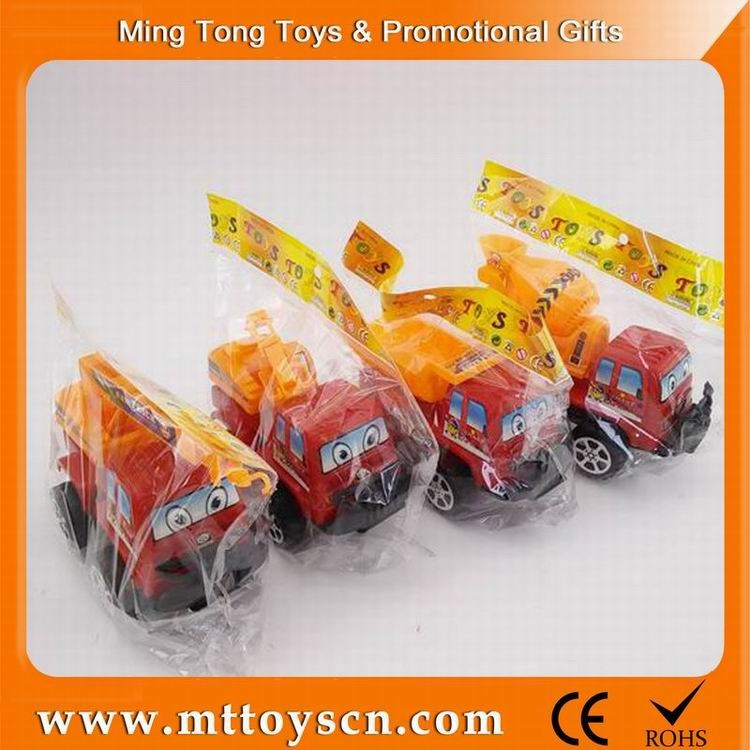 4 different style cheap friction plastic toy truck