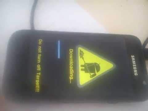 How to flash samsung I9003 galaxy SL
