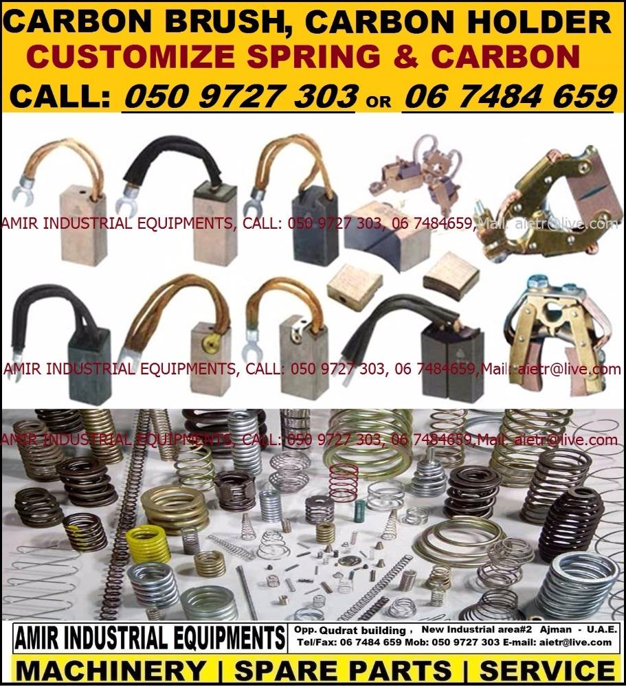 Carbon Brush Carbon Holder Springs Industrial Machinery Spare Parts  Supplier Dealer Maintenance In Dubai Sharjah Rak Uae - Buy Nichrome Heating  Wire