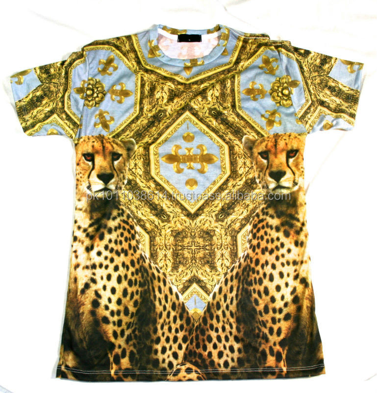 Mens 3d t shirts for sublimation printing fashion design for Full t shirt printing