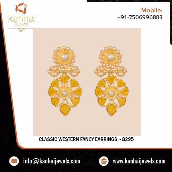 Export Quality Trendy Earring - 8295