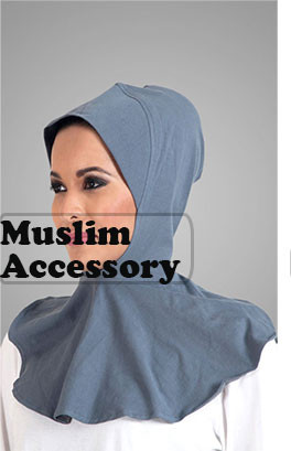 Muslim Women Stylish Fashion Petal Hem Stripe Swimwear  Muslim Clothes Malaysia Swimsuit Islamic Clothing