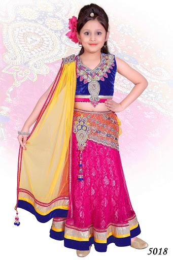 Indisches kleid madchen