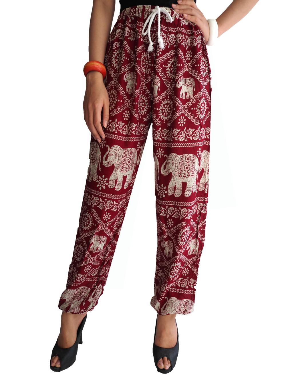 Thai Pants Aladdin Pants Boho Pants Harem Pants Peacock
