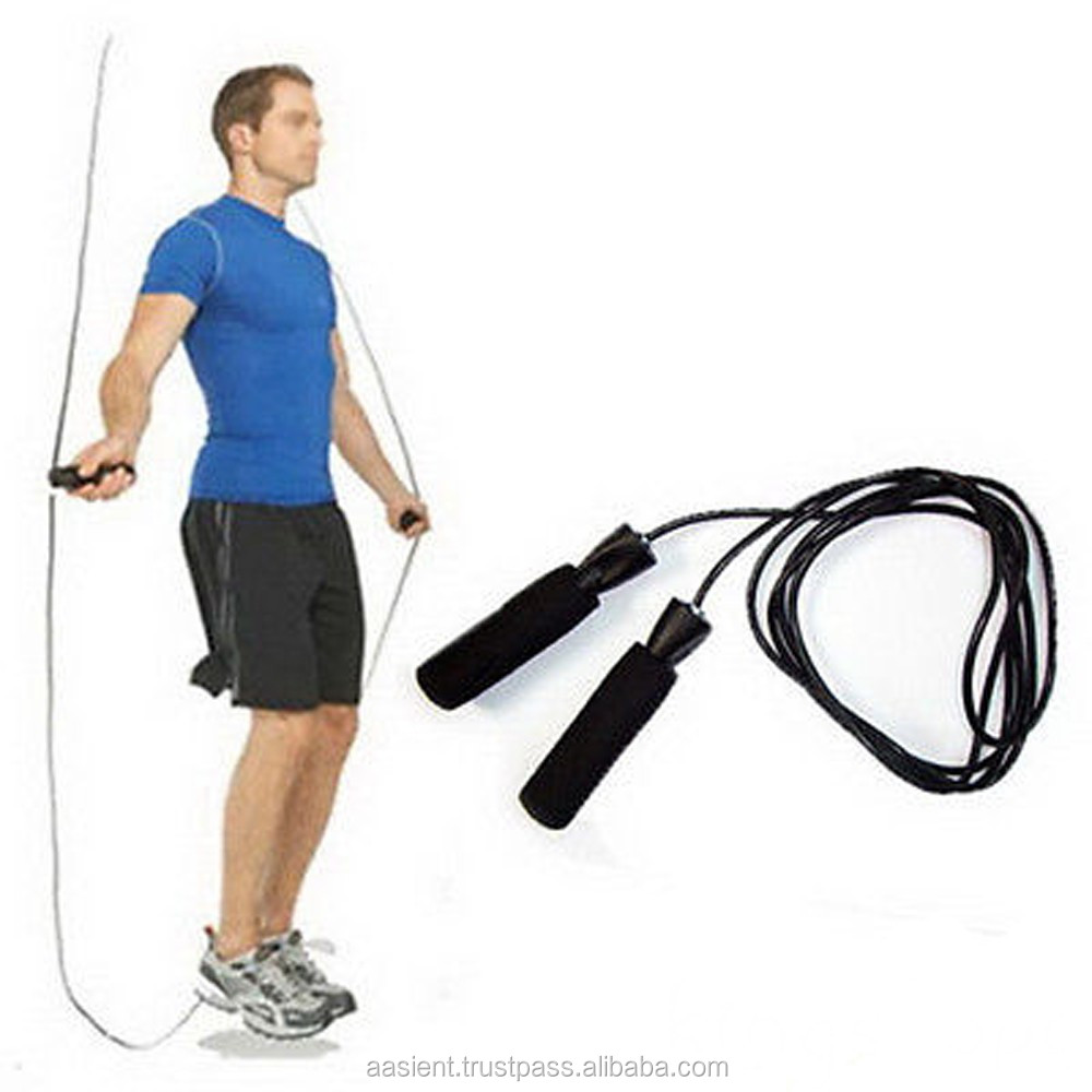 Exercise Boxing Skipping Jump Rope Adjustable Bearing Speed Fitness rope