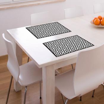 pvc vinyl tischset-30x40 cm pixel tischset für küche/esstisch, Esstisch ideennn