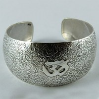 Beautiful Oxidized Silver 925 Sterling Silver Bracelet, Indian Silver Jewelry, Oxidized Silver Jewelry