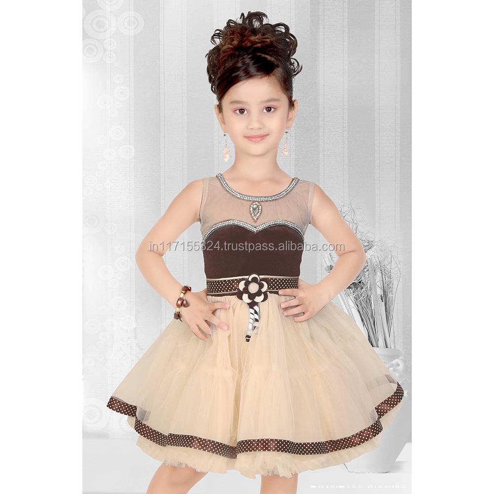 e327065ea Girl Party Wear Western Dress Children Frocks Designs One Piece ...