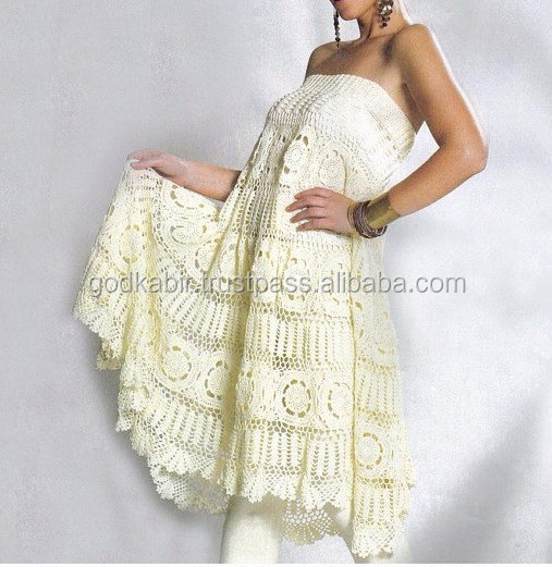 Crochet Tube Kleid Musterstrand Häkeln Kleid Mustersexy Crochet