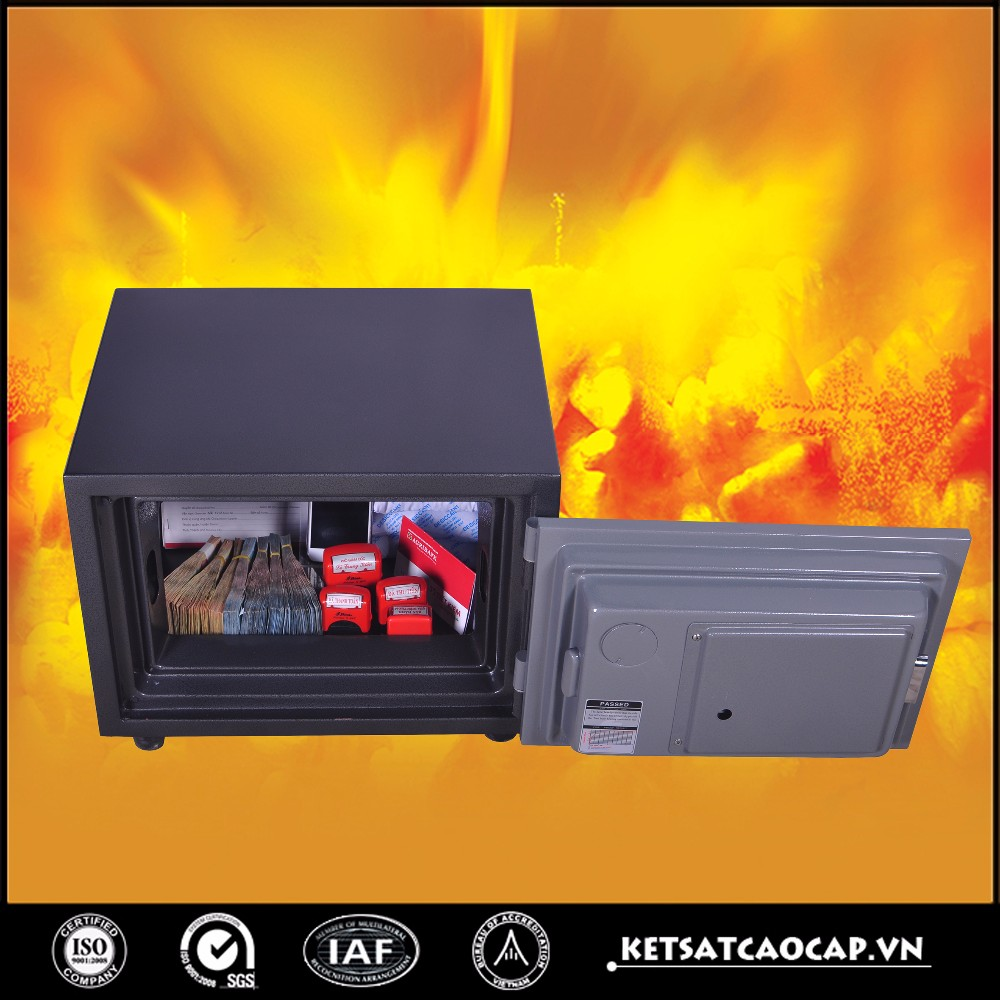 Digital steel security safe high security safe for bank - KS 80 E