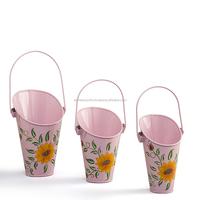 Decorative Metal Hanging Basket Planters | Outdoor Planters Flower Pots