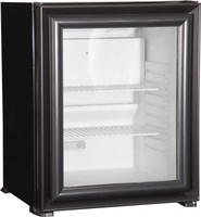 Glass Door Hotel Minibar/mini bar/ Mini Fridge Absorption 40 Lt