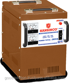 Hansinco Automatic Voltage Regulator/Transformer/Stabilizer 3KVA Input 40V-240V, 60V-240V, 90V-240V, 140V-240V.