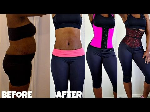 WAIST TRAINING| How To Get A Slim Waist | Flat Belly|Corset|Waist Cincher|Waist Trimmer