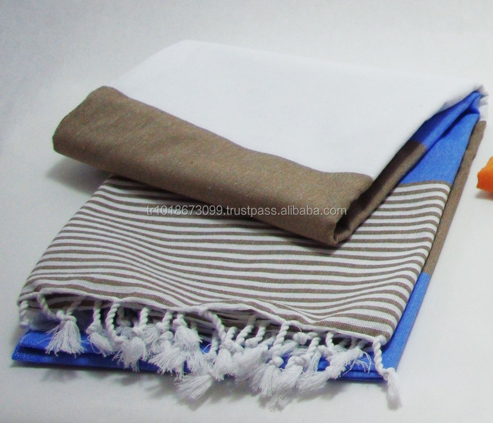 Turkish towel, peshtemal, hammam towel direct from Factory ( havana pestemal) bold stripe