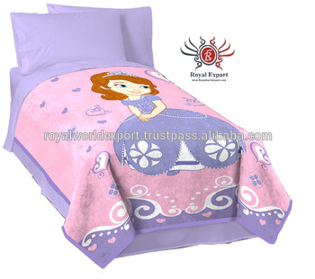 Baby Kid 100cotton Fabric Painting Designs Bed Sheets New Products
