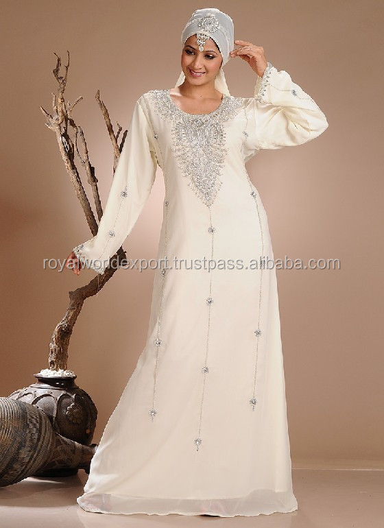 Muslim Bridal Wear Moroccan Wedding Kaftans Gorgeous Beaded Work