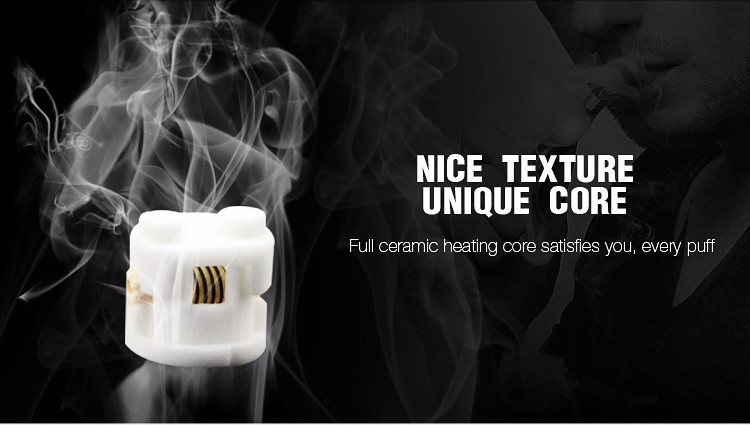 Transpring ceramic coil A4 manufacturer co2 cartridge vaporizer for very thick thc oil