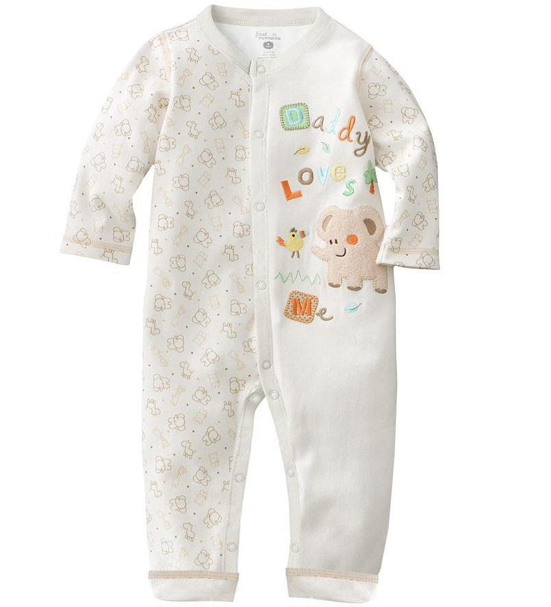 Keep your baby warm and cozy at night in a precious baby sleepwear set. Your child will look extra precious while sleeping soundly in a baby sleepwear set.