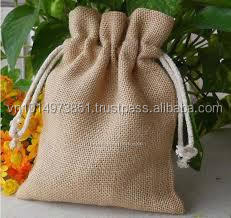 Drawstring Jute Bags for Promotion, Shopping