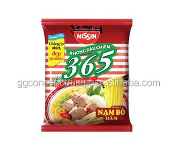 Nissin 365 Instant Noodle With Stewed Beef Flavour 65g